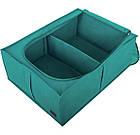 Короб для зберігання речей зі знімною перегородкою (блакить), фото 7