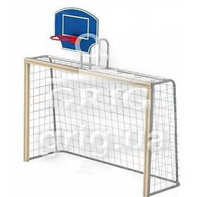 Ворота  баскетбольным щитом