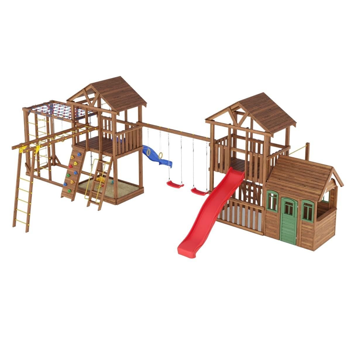 Детские площадки из дерева Leaf 11
