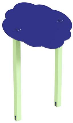 Навіс подвійний Хмаринка 15 дерево, фото 2