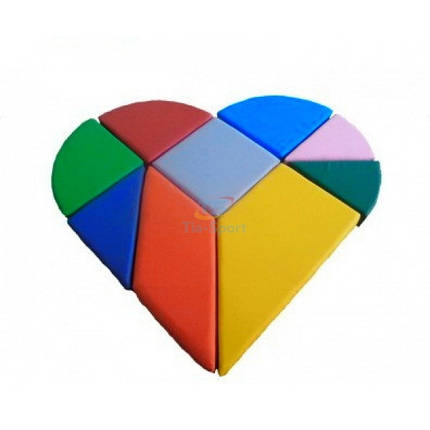 Конструктор танграм сердце, фото 2