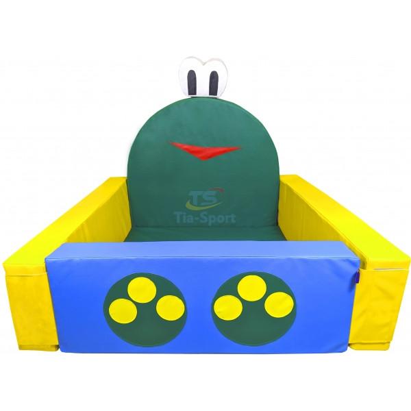 Сухой бассейн Лягушонок 140х100 см