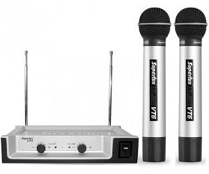 SUPERLUX VT96DD Радіосистема VHF 182.1-199.6MHz, два ручних мікрофони