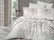 Комплект постельного белья  Clasy сатин размер полуторный Adra V2