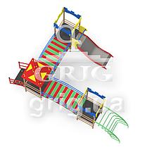 """Игровой комплекс """"Радуга 2"""", фото 2"""