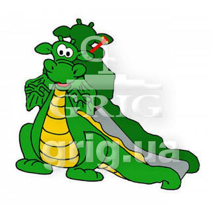 "Горка ""Динозаврик"", фото 2"