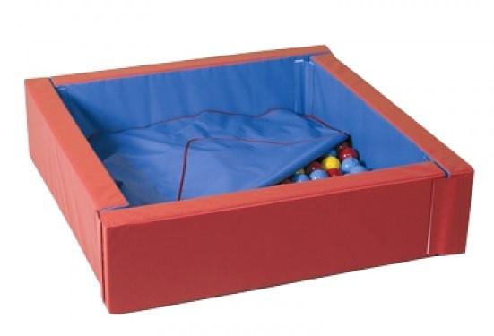 Сухой бассейн с матом 200-200-40 см (15см)
