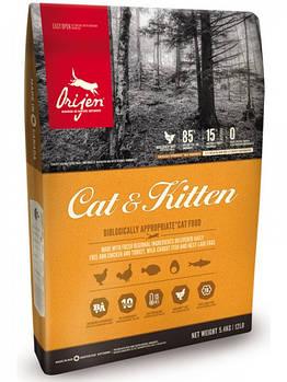 Сухой корм ORIJEN Cat&Kitten для кошек и котят всех пород, 1,8 кг