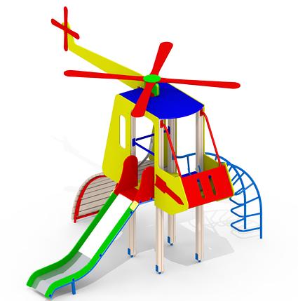 Детская горка Вертолет Mи8, фото 2