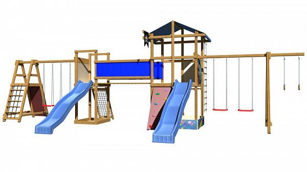 Детские игровые площадки для двора SportBaby-13