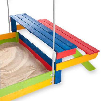 Дитяча пісочниця дерев'яна, фото 2