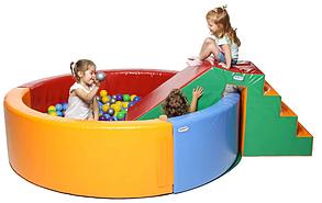 Сухой бассейн KIDIGO Круг 2 м, фото 2
