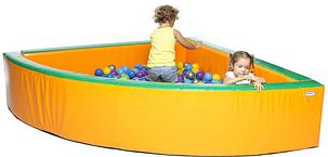 Сухой бассейн KIDIGO Угол 2 м, фото 2