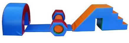 Игровые модули Полоса препятствий KIDIGO 4, фото 2