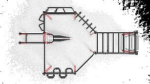 Спортивный комплекс SI-2, фото 2