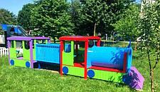 Дитячий Паровоз з вагонами, фото 2