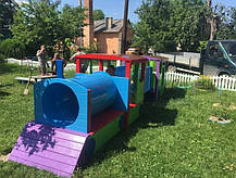 Дитячий Паровоз з вагонами, фото 3