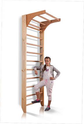 Шведская стенка деревянная Комби-1-240, фото 2