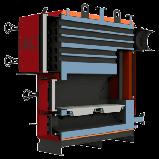 Промышленный твердотопливный котел Альтеп MAX 95, 150, 200, 250 - 800 кВт, фото 6