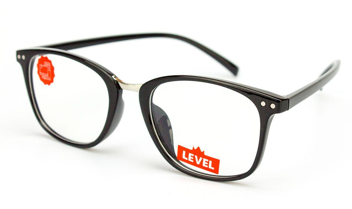 Очки для компьютера Blue blocker, очки для работы за компьютером, защита от компьютера, пластик унисекс, Level