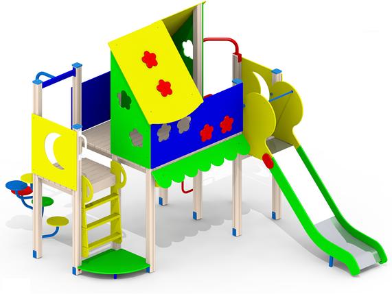 Детский игровой комплекс І94, фото 2