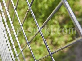 Гарячеоцинкована сітка для габіонів. Осередок: 50х50 мм, Ø 4,0 мм, габарити 1,5х2 м.