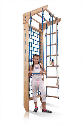 Шведская стенка деревянная Kinder 8 - 240, фото 2