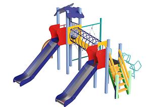 Детские игровые площадки из металла Global Kid, фото 2