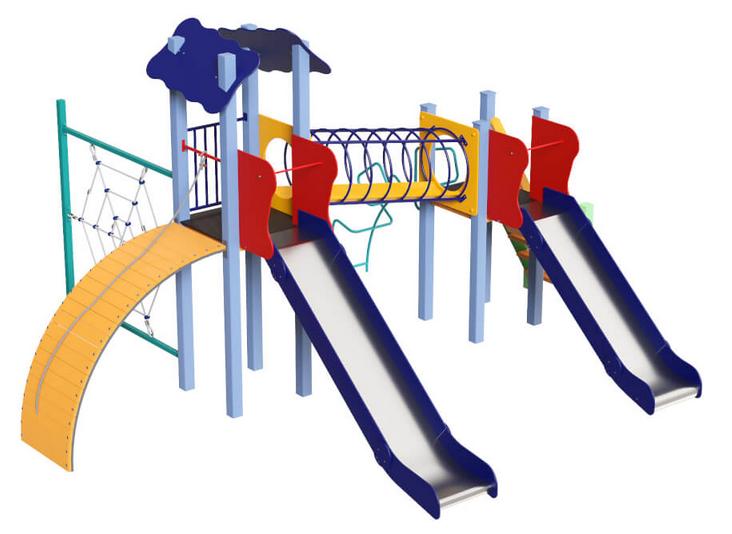 Детские игровые площадки из металла Global Kid