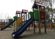 Детский комплекс Стена, высота горки 1,2 м и 1,5 м, фото 3