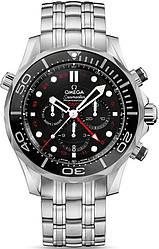 Часы наручные мужские OMEGA CO‑AXIAL GMT CHRONOGRAPH 212.30.44.52.01.001, нержавеющая сталь