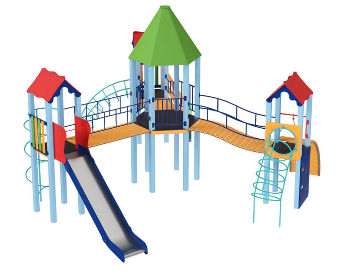 Дитячий комплекс Шестигранник