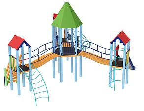Дитячий комплекс Шестигранник, фото 2