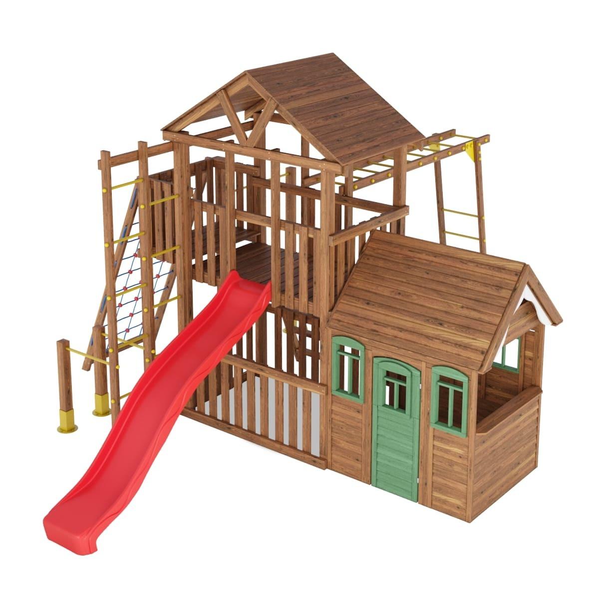 Детская площадка для частного дома Leaf 7