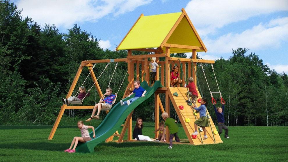 Детский игровой комплекс для улицы Leaf 1