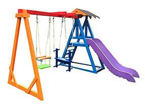 Детская площадка для частного дома Волна