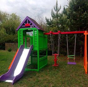 Детские площадки из дерева Чемпион