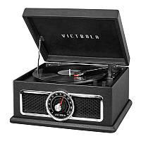 """Проигрыватель для виниловых пластинок многофункциональный Victrola 740010 """"PlazaBlack"""" черный"""