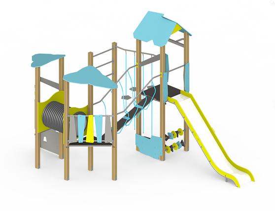 Детский игровой комплекс Es38, фото 2