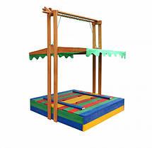 Пісочниця дерев'яна кольорова, фото 3
