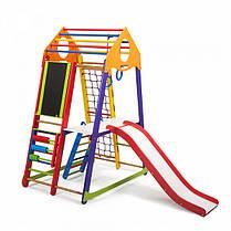 Спортивный уголок деревянный BambinoWood Color Plus 3, фото 3