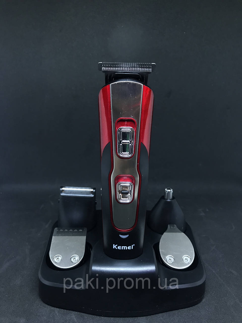 Машинка для стрижки и подравнивания бороды Kemei km-510