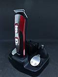 Машинка для стрижки и подравнивания бороды Kemei km-510, фото 2