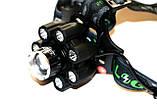 Фонарь налобный Rablex WD472 Bluetooth, фото 3