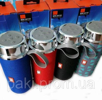 Портативная bluetooth колонка JBL AK 103