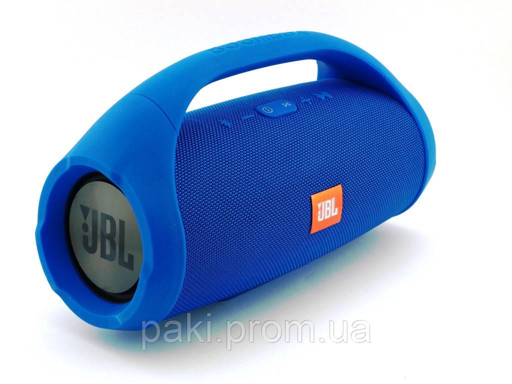 Портативная bluetooth колонка в стиле  JBL Boombox BIG 34 см (Синяя)