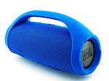 Портативная bluetooth колонка в стиле  JBL Boombox BIG 34 см (Синяя), фото 2