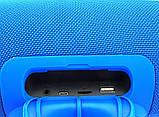 Портативная bluetooth колонка в стиле  JBL Boombox BIG 34 см (Синяя), фото 3