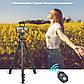 Штатив T80 фірми ZOMEI для фотоапаратів, камер, телефонів з кріпленням і пультом для телефону, фото 10