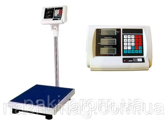 Весы торговые электронные платформенные на 300кг